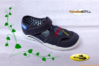 100df5ac96 Textilní tenisky Renbut